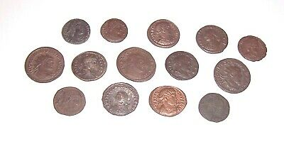 14 Very Detailed Roman Coins - Exceptional Condition - Great Coins - Last Ones