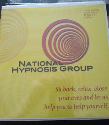 SELF HYPNOSIS CD set of 6 Weight Loss, Improve Memory, Good Health, Stress etc.