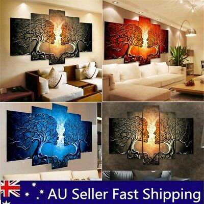 Unframed Woman Love Canvas Painting Print Picture Living Room Wall Art Decor