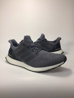 998a2b2e0c756 ADIDAS ULTRA BOOST 3.0 Mystery Grey Mens Running Shoes Size 11.5 ...