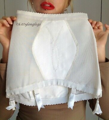 Brand New Vintage Clairette Firm Roll On Suspender Girdle fit approx. size 10
