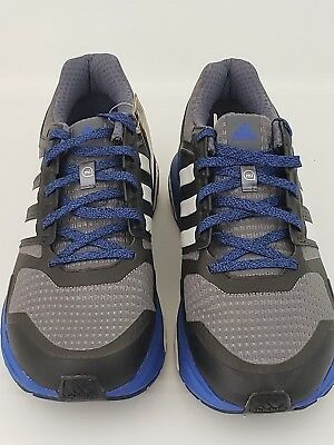 Adidas Sequence Boost Continental Running Shoes Mens 11.5 Black Grey Blue S77848