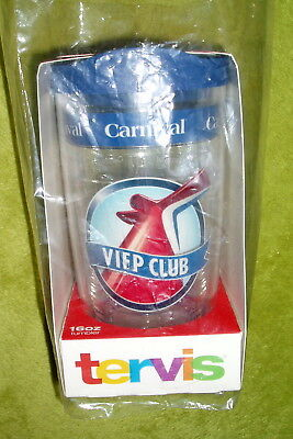 NEW Carnival Cruise Line VIFP Club Platinum Diamond Tervis Tumbler 16 oz cup