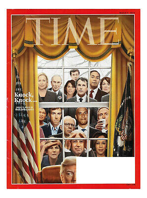 TIME Magazine~BATTLE ROYAL FOR 2020+THE BIG DRY+EATING FOR HEALTH~March 4, 2019