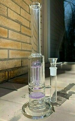 Heavy Thick Glass water pipe bong 13 Inch