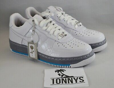 NIKE AIR FORCE 1 Rosie's Dry Goods White Size 9 NEW DS 316077 111 Rare