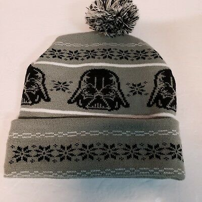 70e4e3e9e NEW STAR WARS Darth Vader Pom Winter Hat Knit Cap Beanie - $14.95 ...