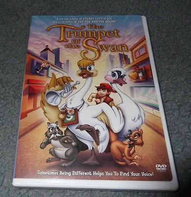 2001 The Trumpet of the Swan DVD Jason Alexander Reese Witherspoon Carol Burnett