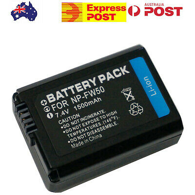 Generic Battery for Sony Battery Part Number NP-FW50