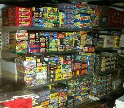 New Old 100 Card NFL Football Unopened Pack Lot Dad's Collection Estate Sale