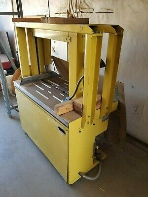"""Strapping machine with .375"""" strap."""