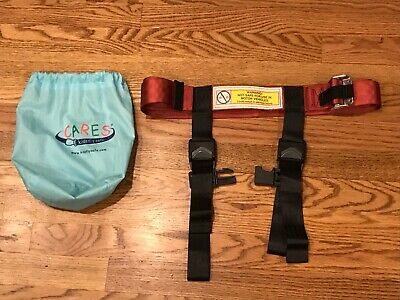 Kids Fly Safe CARES Airplane Safety Harness for Children