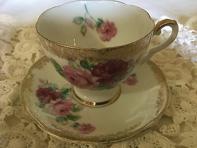 Castle China Cup And Saucer     Japan