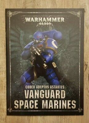 Warhammer 40K Shadowspear Codex Adeptus Astartes Vanguard Space Marines