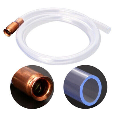 AU Gas Oil Fuel Gasoline Liquid Water Tank Syphon Siphon Transfer Pump Hose Pipe