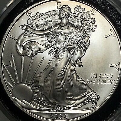 2009 $1 American Silver Eagle 1 oz Brilliant Uncirculated