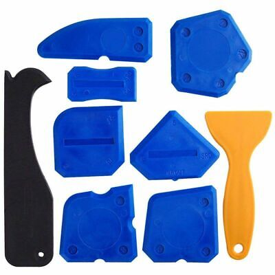 1X(9 Pieces Sealant Tools Caulking Kit Silicone Remover Sealing Tool for Bath 2M
