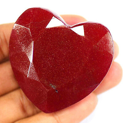 Natural 345 Ct Cut Emerald Certified Real African Red Ruby Gemstone