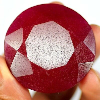 Great Deal 231 Ct Natural Certified Real African Red Ruby Loose Gemstone