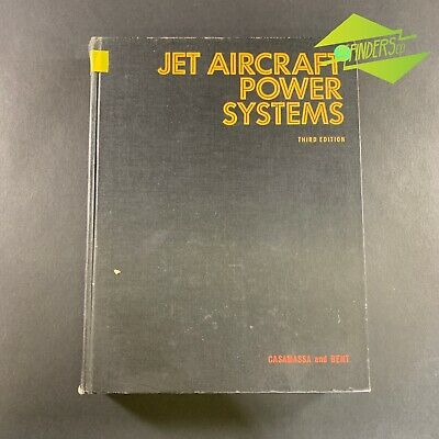 VINTAGE 1965 EX-RAAF LIBRARY 'JET AIRCRAFT POWER SYSTEMS' CASAMASSA & BENT 408pp