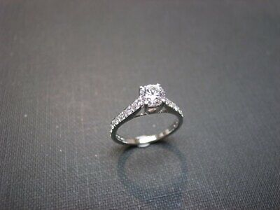 Certified 2.30Ct White Round Diamond In 14K Solid White Gold Wedding Bridal Ring