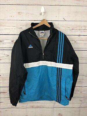 91ce982bab7a5 VTG 80'S ADIDAS Track Suit Adult Large Red White Black Spell Out ...