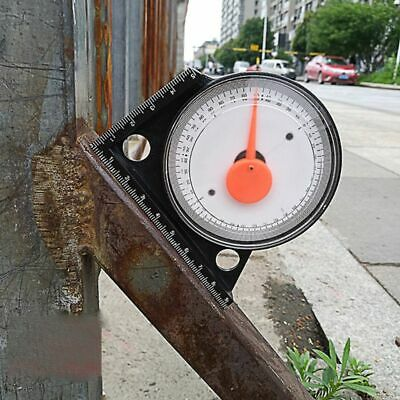 Slope Protractor Angle Finder Level Meter Clinometer Gauge With Magnetic Base