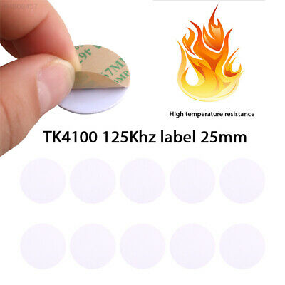 0237 TK4100/EM4100 Rfid Label Smart Tags Reading Numbers Access Control Cards