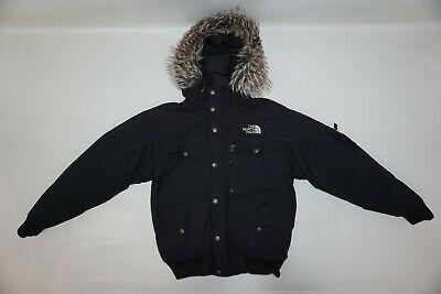2ab1d4655 THE NORTH FACE Men's MCMURDO HyVent Goose Down Hooded Outdoor Bomber Jkt sz  XS
