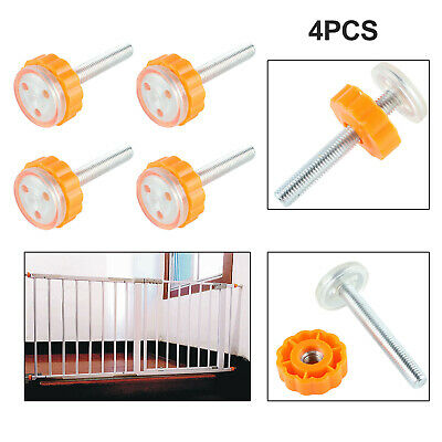Safety Stairs Gate Screws/Bolts with Locking Nut Spare Part Accessories Kit