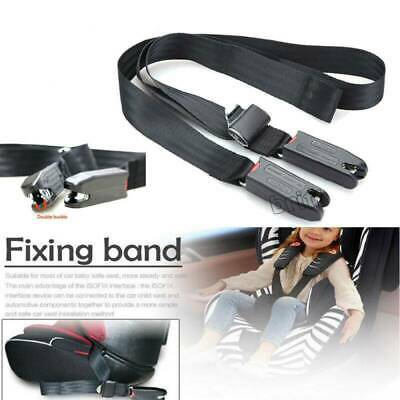 Children Kids Safe Car Seat Strap Kit Install Fixed Belt Connector Isofix Latch*