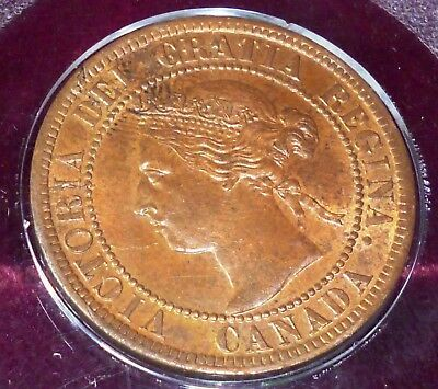 Canada 1895  Victorian Large Cent   Uncirculated