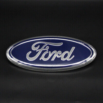 """7/"""" Blue for F-150 Expedition Tailgate Emblem Oval Decal Badge Nameplate"""