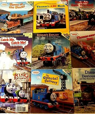 Lot of 12 Vintage Childrens Thomas the Train Picture Books by Rev Awdry