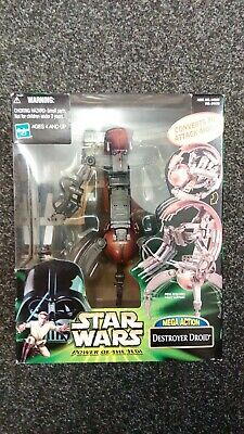 Star Wars Episode 1 Destroyer Droid Power Of The Jedi Mega Action Hasbro 2000