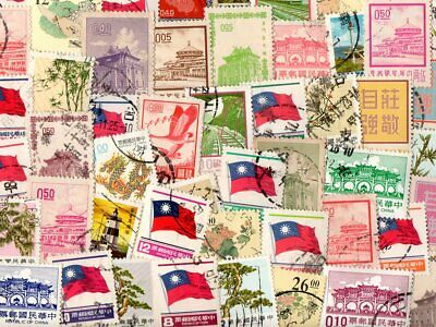 Formosa : 50 Different Stamps Collection