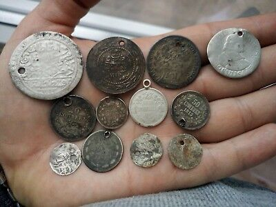 Old silver coins 1800-1900 years