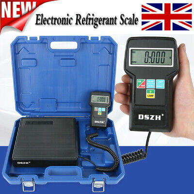 Electronic Refrigerant Scale 220lbs Digital HVAC A/C Refrigerant Freon Charging