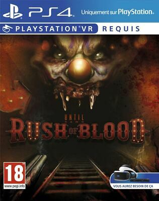 Until Dawn Rush of Blood PSVR Brand New PS4 Sealed Official