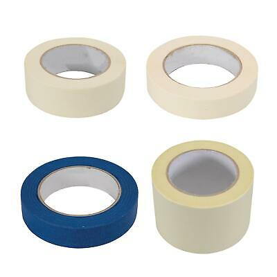New Masking Tape Indoor Outdoor DIY Painting Decorating Easy Tear 24-75mm x 50m