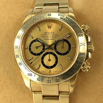 quality design 0e425 c1d4d ROLEX 16528 OYSTER Perpetual Daytona Cosmograph, Champagne Dial, 1994 +Box