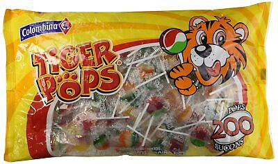 TIGER POPS LOLLIPOPS, Candy, Suckers, Lollipop Colombina