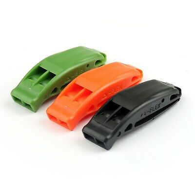 EDC Waterproof Silbato De Emergencia Supervivencia Seguridad Exterior whistle,