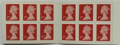 1st Class Royal Mail Self Adhesive Postage Stamps Book Of 12 New & Unused