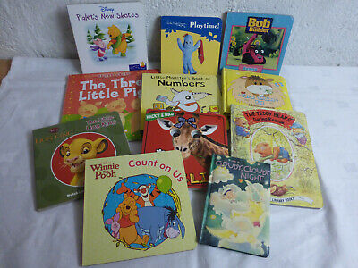 Children's Board Books, Mixed Selection x11