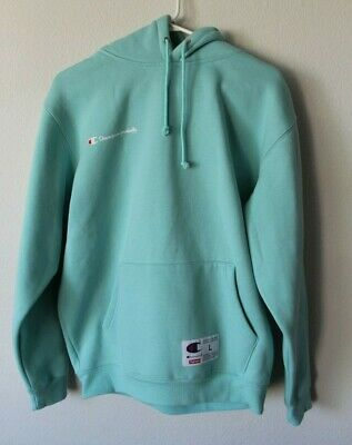 Rare Supreme L Hoodie Mint Size X Large 100Authentic Mens Champion MUpqzVGS
