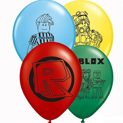 "ROBLOX 12"" Latex Balloons Birthday Party Bag Filler 12 or 24"