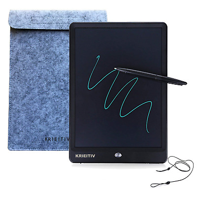 KRIEITIV 10 inch LCD Writing Tablet Electronic Drawing Board Doodle Pad eWriter