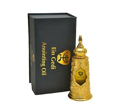 Gold Anointing oil Blessed biblical oil from in Jerusalem 125 ml. by Ein Gedi