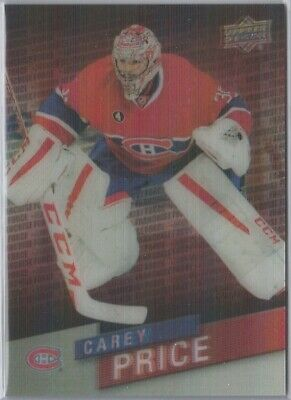 2015-16 UD Tim Hortons Franchise Force 3D Carey Price #FF-6 Insert Canadiens